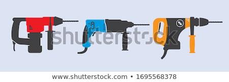 martillo · ladrillos · construcción · poder · reparación · protección - foto stock © fotoedu