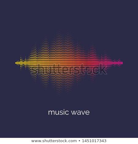 Bright vibrant colors digital waves pattern stock photo for Bright vibrant colors