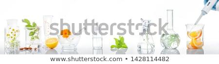 tubo · laboratório · isolado · branco · saúde - foto stock © lenm