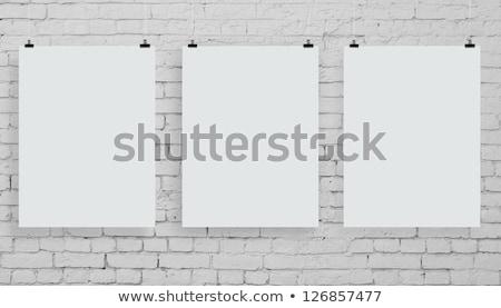 Három fal fából készült textúra fa háttér Stock fotó © fuzzbones0