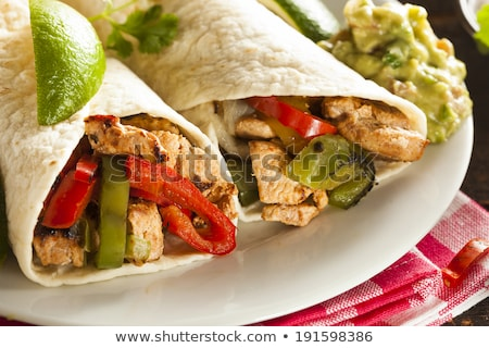 fajita,burrito Stock photo © M-studio