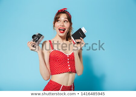 woman wearing a swimsuit stock photo © orla