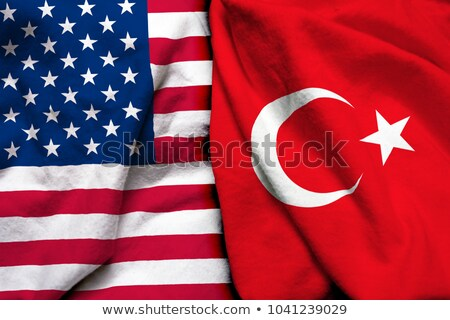 A boxing match between the USA and Turkey Stock photo © Zerbor