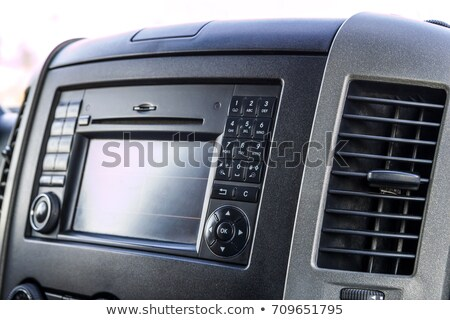 Luxury car interiour Stock photo © Hofmeester