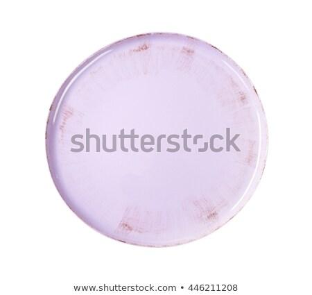 limpar · branco · jantar · prato · quadro - foto stock © digifoodstock