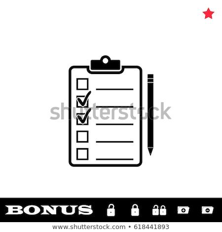 Black List Concept on Folder Register. Stock photo © tashatuvango