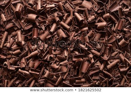 Süt çikolata tatlı dekorasyon dekoratif Stok fotoğraf © Digifoodstock