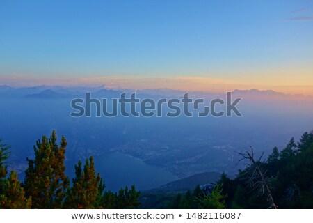 Stock photo: Lago di Garda - beautiful emerald lake in north of Italy