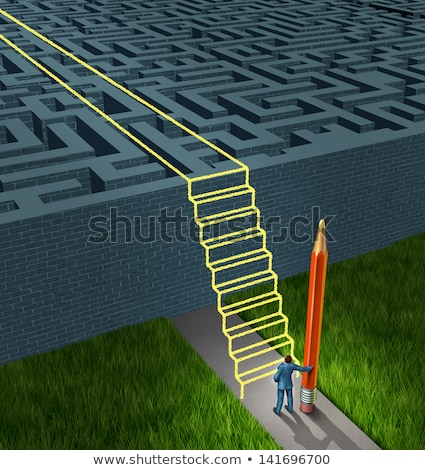 Adversity Strategy Concept Stock photo © Lightsource