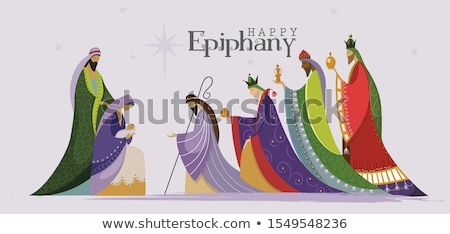 Three wise men Epiphany Stock photo © adrenalina