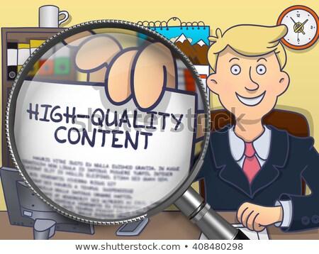 ウェブ コンテンツ 開発 いたずら書き スタイル ストックフォト © tashatuvango