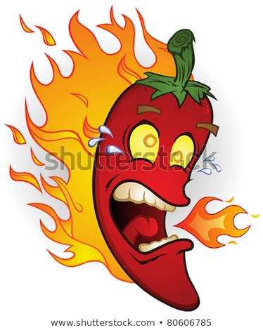 Spicy Red Pepper Mexican Mascot Stock photo © Krisdog
