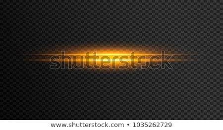 transparent golden light streak effect background Stock photo © SArts