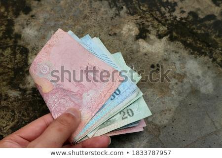 Vuile cash onherkenbaar vrouw minirok handen Stockfoto © MilanMarkovic78