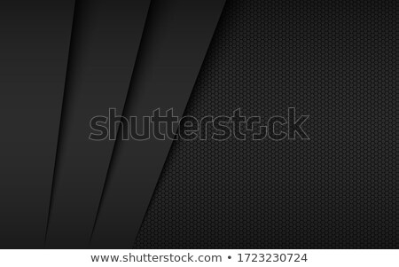 Black abstract background, modern vector widescreen background, simple texture illustration Stock photo © kurkalukas