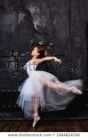 Meninas etapa ilustração menina crianças Foto stock © bluering