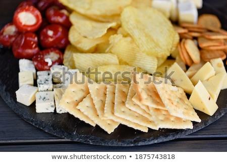 delicioso · espanhol · lanches · recheado · pequeno · pimentas - foto stock © dash