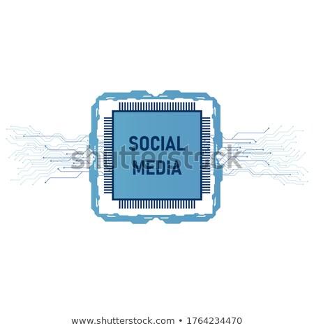 ネットワーク · ビジネスの方々 ·  · 携帯 · 技術 - ストックフォト © limbi007