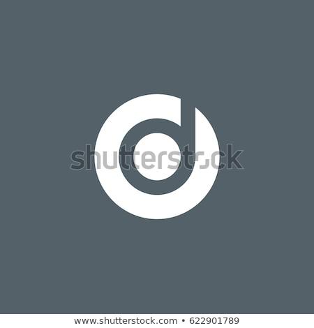 letter o and d od logo icon vector Stock photo © blaskorizov