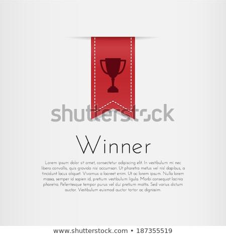 красный · печать · золото · вектора · изолированный - Сток-фото © pikepicture