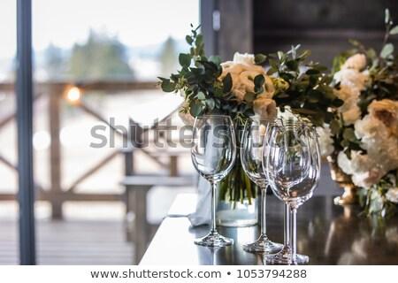 Anillo de bodas Rose Red boda amor fondo Foto stock © stoonn