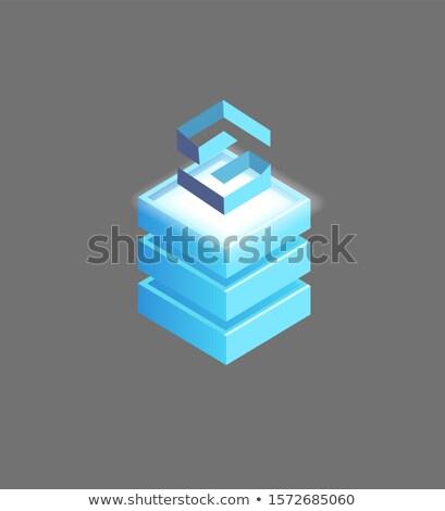 Lisk Open-Source, Public Blockchain Platform Icon Stock photo © robuart
