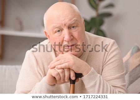 patient old men_Mental Stock photo © toyotoyo