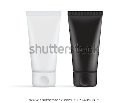 belleza · higiene · contenedor · negro · CAP · 3D - foto stock © bayberry