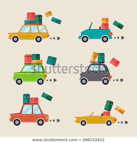 Coche automóvil vector personas madre Foto stock © robuart