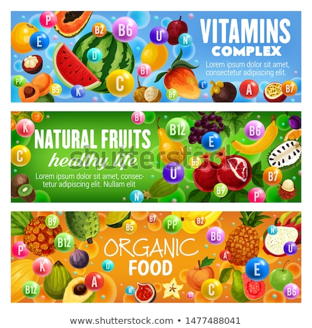 Tropical Fruits Banner with Exotic Food Jackfruit Stock photo © robuart