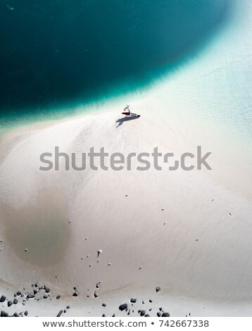 adımlar · okyanus · gri · taşlar · pembe · mavi - stok fotoğraf © diego_cervo