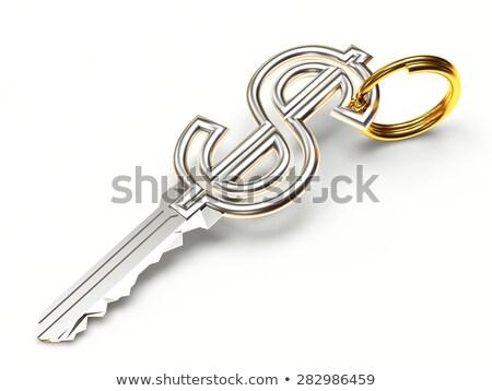anahtar · takım · çalışması · parça · kâğıt · kelime - stok fotoğraf © elnur