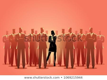 ジェンダー 写真 ビジネス セックス 男 女性 ストックフォト © AndreyPopov