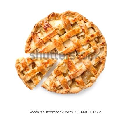 Traditional apple pie Stock photo © karandaev