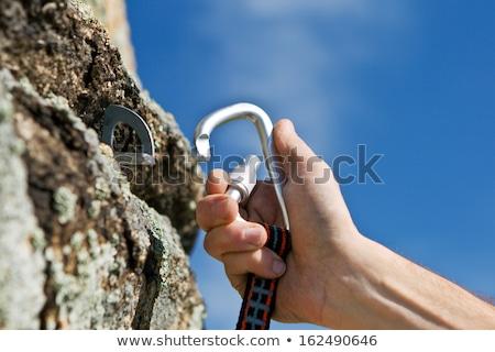 Climber's carbine Stock photo © nomadsoul1
