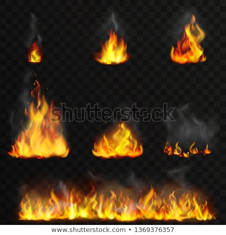 Explosion Fire and Smoke,Explosive Details Icon Stock photo © robuart