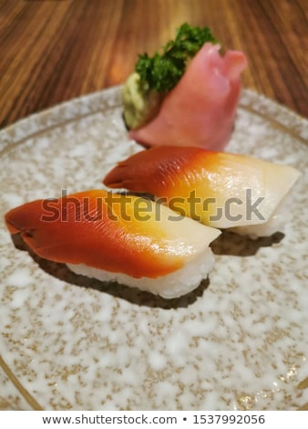 Clam sushi stock photo © RazvanPhotography