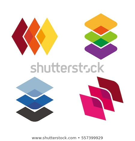 Stock photo: Three diamonds