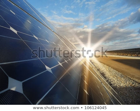 solar energy power plant stock photo © pancaketom