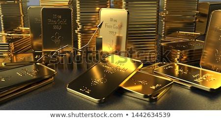 arany · ár · nyaláb · egyensúly · dollár · bankjegyek · rácsok - stock fotó © joker