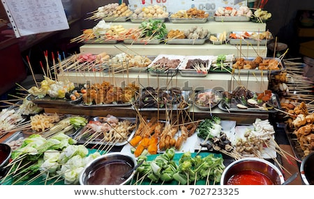 Snacks Maleisië markt asia fast food traditioneel Stockfoto © travelphotography