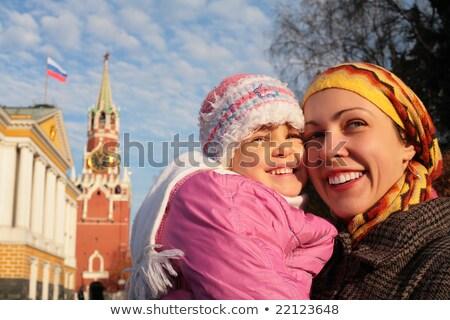 матери девочку Кремль лицах ребенка лице Сток-фото © Paha_L