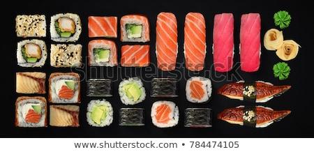 sushi · servido · cerâmico - foto stock © aladin66