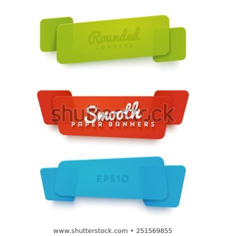 vector · grafische · gekleurd · icon · sticker · ingesteld - stockfoto © m_pavlov