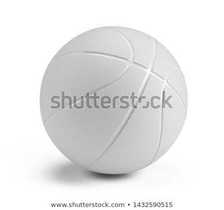 баскетбол · мяча · белый · изолированный · 3D · изображение - Сток-фото © ISerg