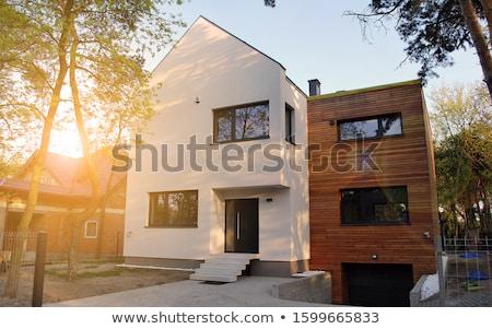 Wooden facade Stock photo © rbiedermann