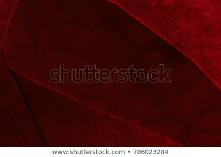 Red drapes reflected  Stock photo © dvarg