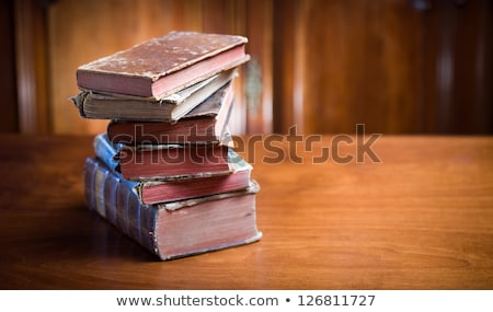pile of books in a vintage setting Stock photo © xaniapops