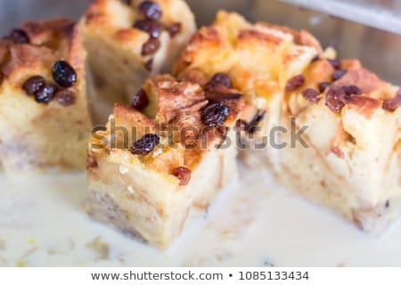 Bread pudding Stock photo © fotogal