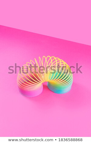 Spiral of colored wires Stock photo © vtorous